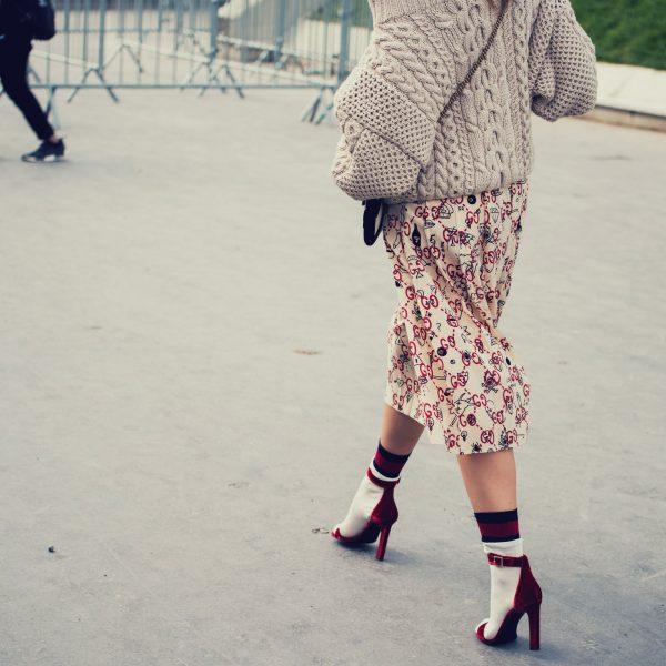 Woman walking on the heels in skirt feminine walk | The Sublime Woman