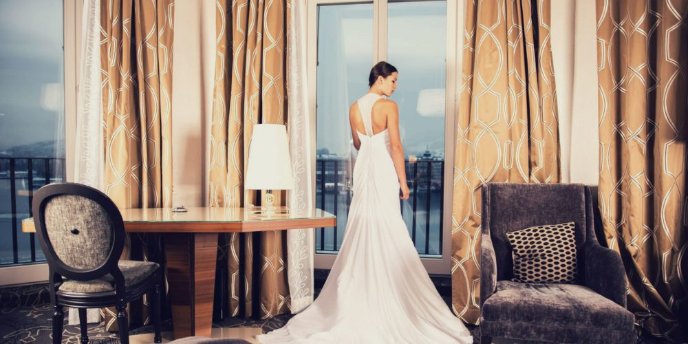Woman in long beautiful dress in a beautiful room skirt feminine | The Sublime Woman