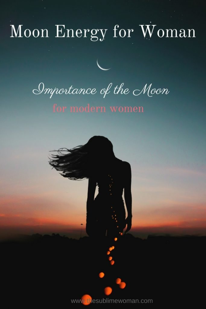 Moon Energy for Woman | The Sublime Woman