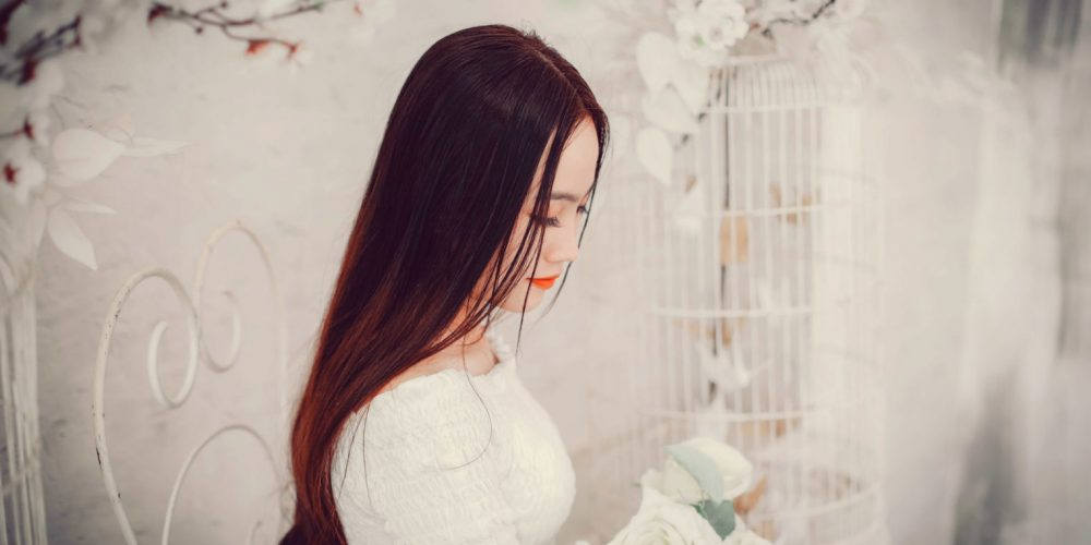 Moon Energy for Woman beautiful Asian woman with long hair | The Sublime Woman
