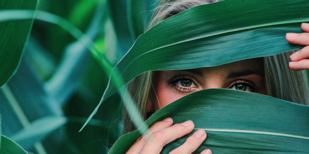 The Art of Slowing Down beautiful woman in the leaves | The Sublime Woman