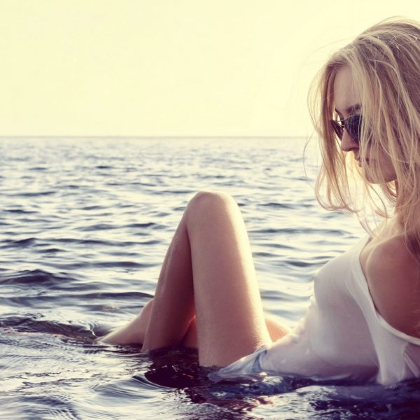 Body Habits of Woman with Self-Love beautiful woman on the beach | The Sublime Woman