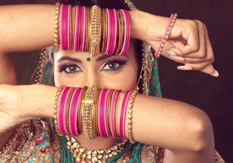 Divine Feminity Goddess Lakshmi beautiful Indian woman   The Sublime Woman