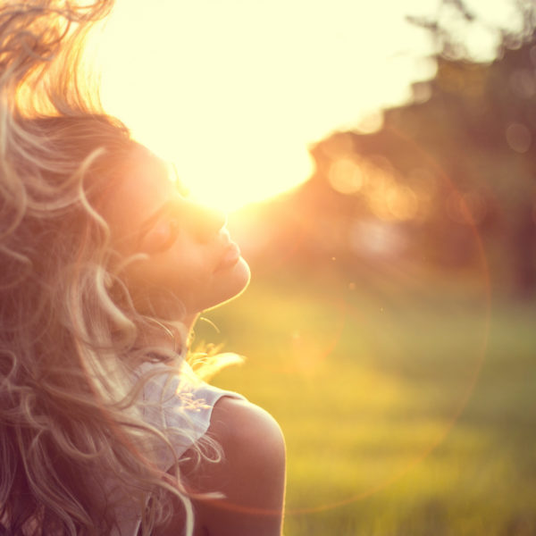 Woman as a Muse beautiful woman with long blonde hair   The Sublime Woman