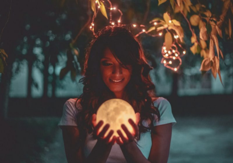 Vedic Astrology for Wise Women woman holding a moon   The Sublime Woman