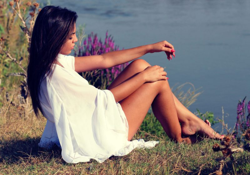 Sensuality Divine And Sacred beautiful feminine woman by the water   The Sublime Woman